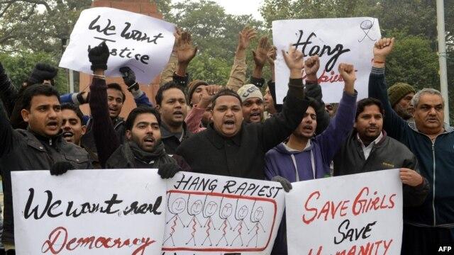 Protesti protiv nasilja nad ženama u Indiji, 2. januar 2013.