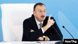 Претседателот на Азербеџан Илхам Алиев
