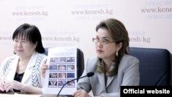 Парламенттин мурдагы мүчөсү Дамира Ниязалиева.