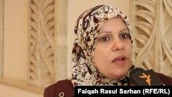 وزيرة الدولة لشؤون المرأة إبتهال الزيدي