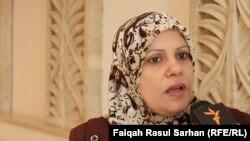 وزير شؤون المرأة ابتهال الزيدي