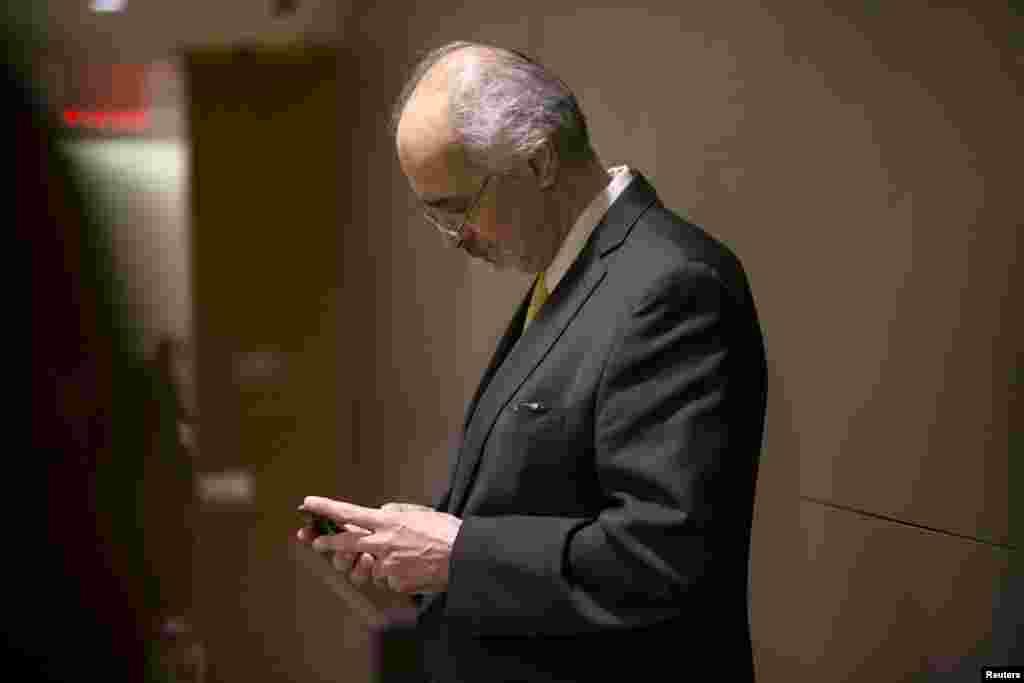 بشار جعفری، نماینده دولت مرکزی سوریه در سازمان ملل متحد؛ کشوری که در کنار بحران پناهجویان، در مرکز توجه نشست همگانی و دیدارهای حاشیهای آن است.