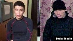 Ліворуч – затриманий російський прикордонник, праворуч – Аскар Кулуб