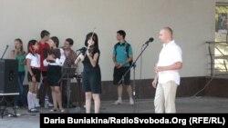 Учасники концерту «Дякуємо за українську мову», 29 липня 2012 року