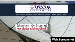 Delta-telecom.net saytından screenshot. 14april2017
