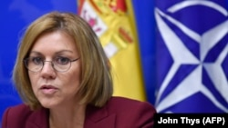 "Spanish Defense Minister Maria Dolores de Cospedal said it was clear that a lot of the messaging on social media around the Catalan vote ""came from Russian territory,"" though a definitive link to the government has not been proved."