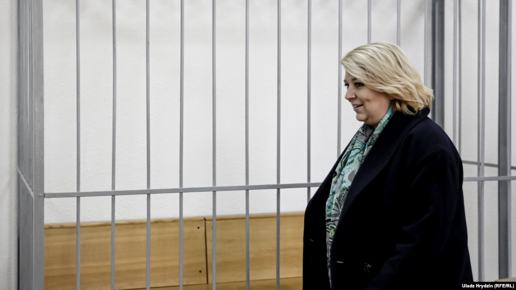 Светлана Калинкина в суде 8 октября