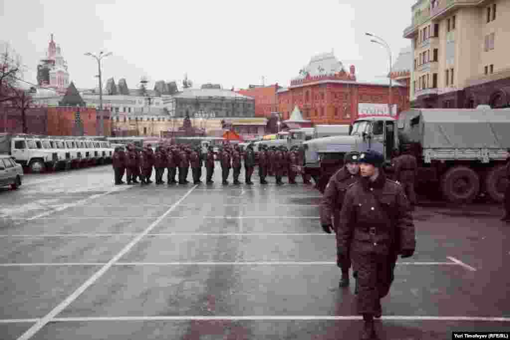 Москва, Площадь Революции, 10 декабря