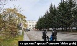 Задержание несовершеннолетнего Павла Поповича в Хабаровске