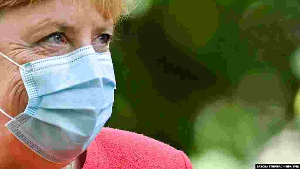 ГЕРМАНИЈА - Германската канцеларка, Ангела Меркел , синоќа го опиша неодамнешниот бран на инфекции со коронавирус ширум Европа како сериозен и ги повика земјите-членки на Европската унија да научат од грешките направени кога пандемијата првпат го погоди континентот.