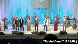 Гала-концерт деятелей узбекского искусства в Душанбе. Май 2017 года