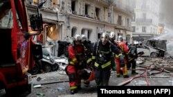 На місці вибуху, фото 12 січня 2019 року