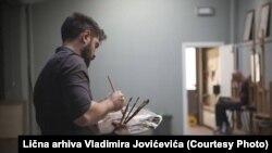 Slikar, ako je čovjek, dovodi u pitanje svoje slikarstvo: Vladimir Jovićević
