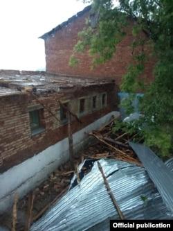 Последствия урагана в Лениногорском районе