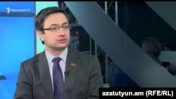 Геворк Горгисян в студии Азатутюн ТВ