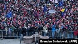 Митинг сторонников Дональда Трампа, Вашингтон, 6 января 2021 года