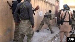«Իսլամական պետության» զինյալները Սիրիայում, հոկտեմբեր, 2014թ․