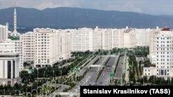 Столица Туркменистана Ашхабад