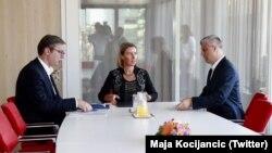 Dialogu në Bruksel, fotografi nga arkivi.