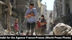 Эта фотография спасенного в Алеппо мальчика получила вторую премию World Press Photo за 2017 год