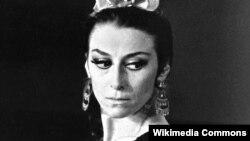 Майя Плисецкая в роли Кармен.