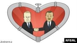 Caricatură de Evgheni Olinik.