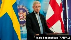 Экс-міністар замежных спраў Швэцыі Карл Більдт.