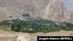 Баткендеги Зардалы айылы.