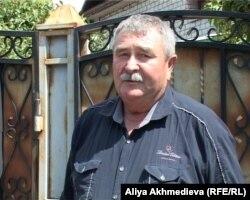 Директор охотничьего хозяйства «Тастау» Сергей Печёркин. Талдыкорган, 4 июня 2012 года.