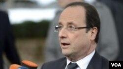 Франция президенти Франсуа Олланд.