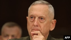 U.S. Marine Corps General James Mattis, commander of the U.S. Central Command