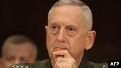 АҚШ қарулы күштері орталық бас қолбасшысы генерал Джеймс Матис.