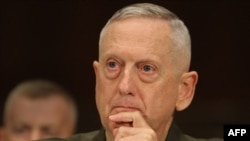 Marine Corps General James Mattis, commander of the U.S. Central Command.