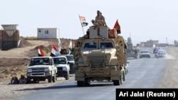 Иракские военные в Зумаре, провинция Найнава. 18 октября 2017 года.