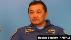 Қазақстандық ғарышкер Айдын Айымбетов.
