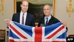 Принц Вільям (л) і Генрі Верслі (п), фото 19 жовтня 2015 року
