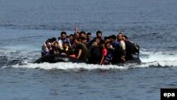 Աֆղանստանից փախստականներ Միջերկրական ծովում, սեպտեմբեր, 2015թ․