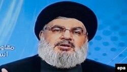 Лидер радикальной группировки «Хезболла» Хасан Насралла.