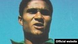 Mozambican-born Portuguese football legend Eusebio