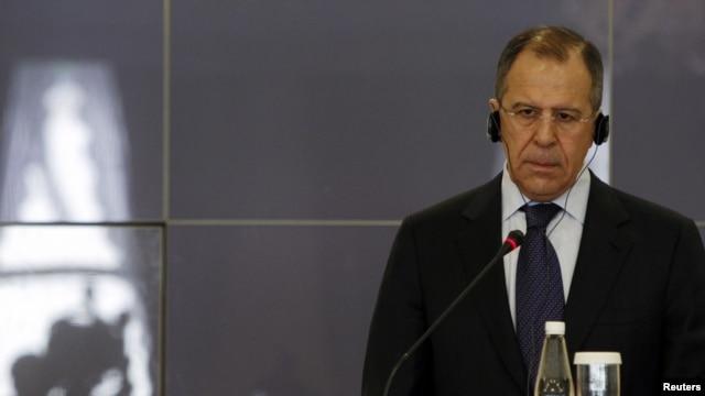 Foreign Minister Sergei Lavrov