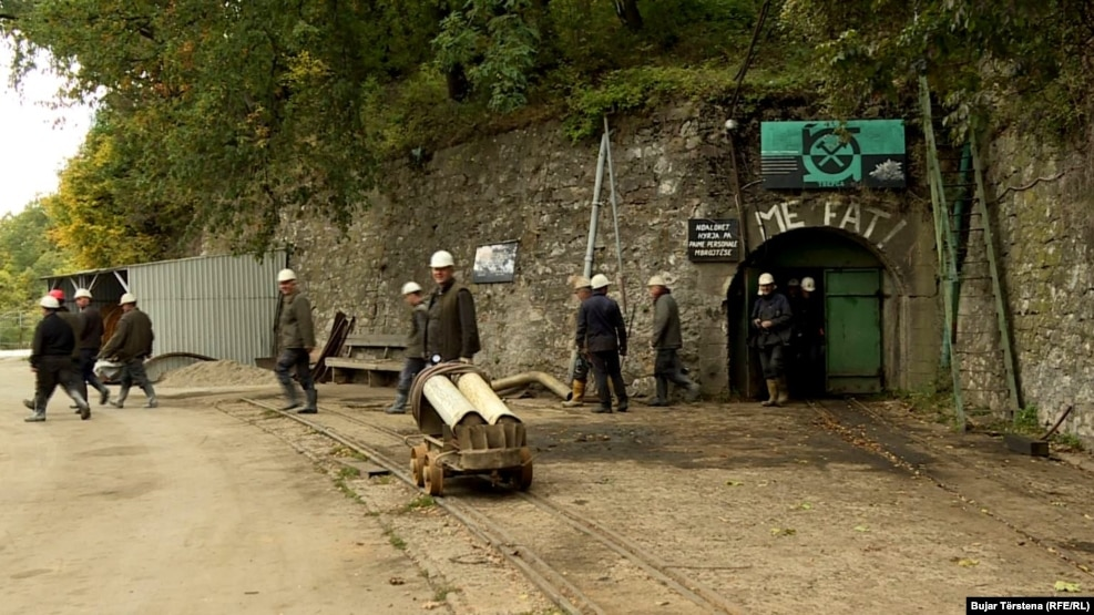 The Trepca mining complex once accounted for two-thirds of Kosovo's economy. (file photo)
