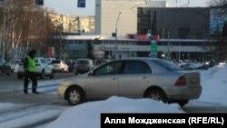 Novokuznetsk polisi mübariz keşikdədir