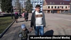 Задержанный в Симферополе Константин Давыденко