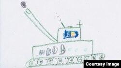 Рисунок украинского ребенка