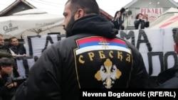 "Skup ispred pekare ""Roma"" u Borči"