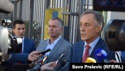 Bečić, Rakčević i Lekić, foto: Savo Prelević