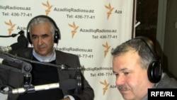 Adil İsmayılov və Qurban Məmmədov