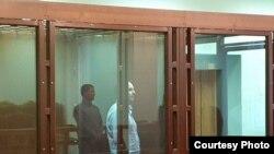 Вячеслав Борисов в суде. Фото объединенной пресс-службы судов Петербурга