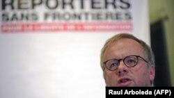 Генеральный секретарь организации «Репортеры без границ» Кристоф Делуар.