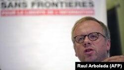 Serhetsiz reportýorlar guramasynyň başlygy Kristof Delor (Christophe Deloire)